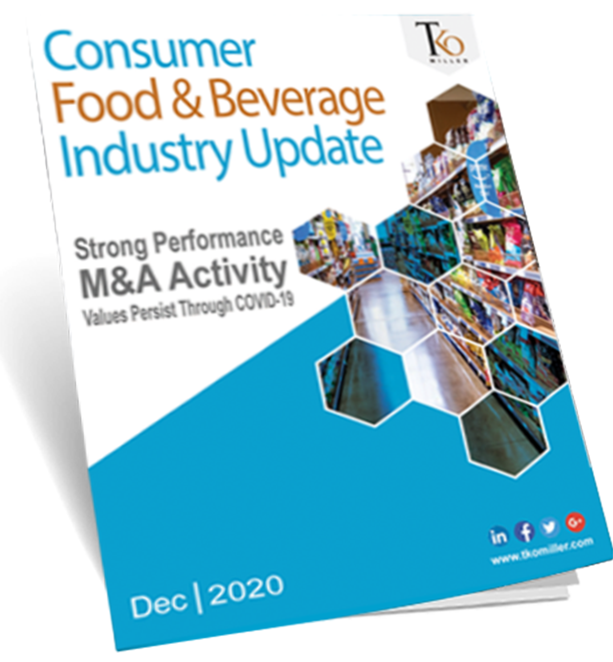 Consumer Food & Beverage Industry Update - Cover eBook