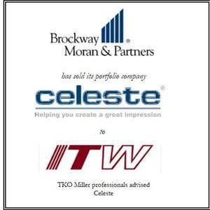Brockway Moran & Partners has sold Celeste Industries