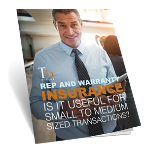 Rep and Warranty Insurance - mock eBook