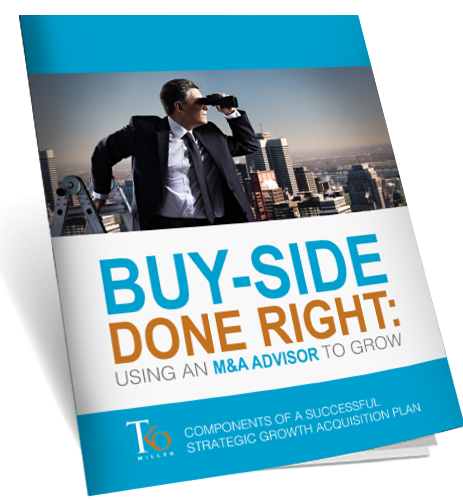 BUY-SIDE DONE RIGHT- USING AN M&A ADVISOR TO GROW - eBook mock